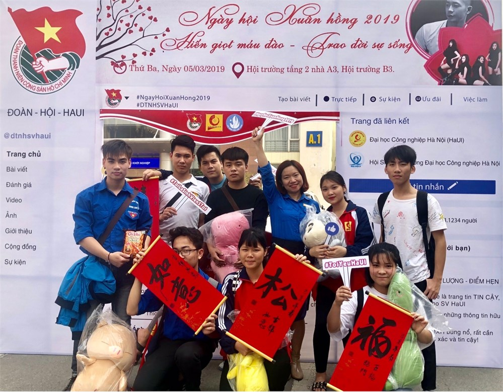 Đoàn viên thanh niên nhà trường hiến tặng 1729 đơn vị máu tại Ngày hội Xuân hồng năm 2019