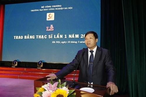 Tổ chức Lễ trao Bằng thạc sĩ lần 1 năm 2019 Trường Đại học Công nghiệp Hà Nội