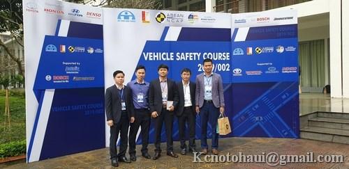 """Hội thảo quốc tế """" An toàn phương tiện giao thông 2019"""" ASIAN NCAP 2019"""