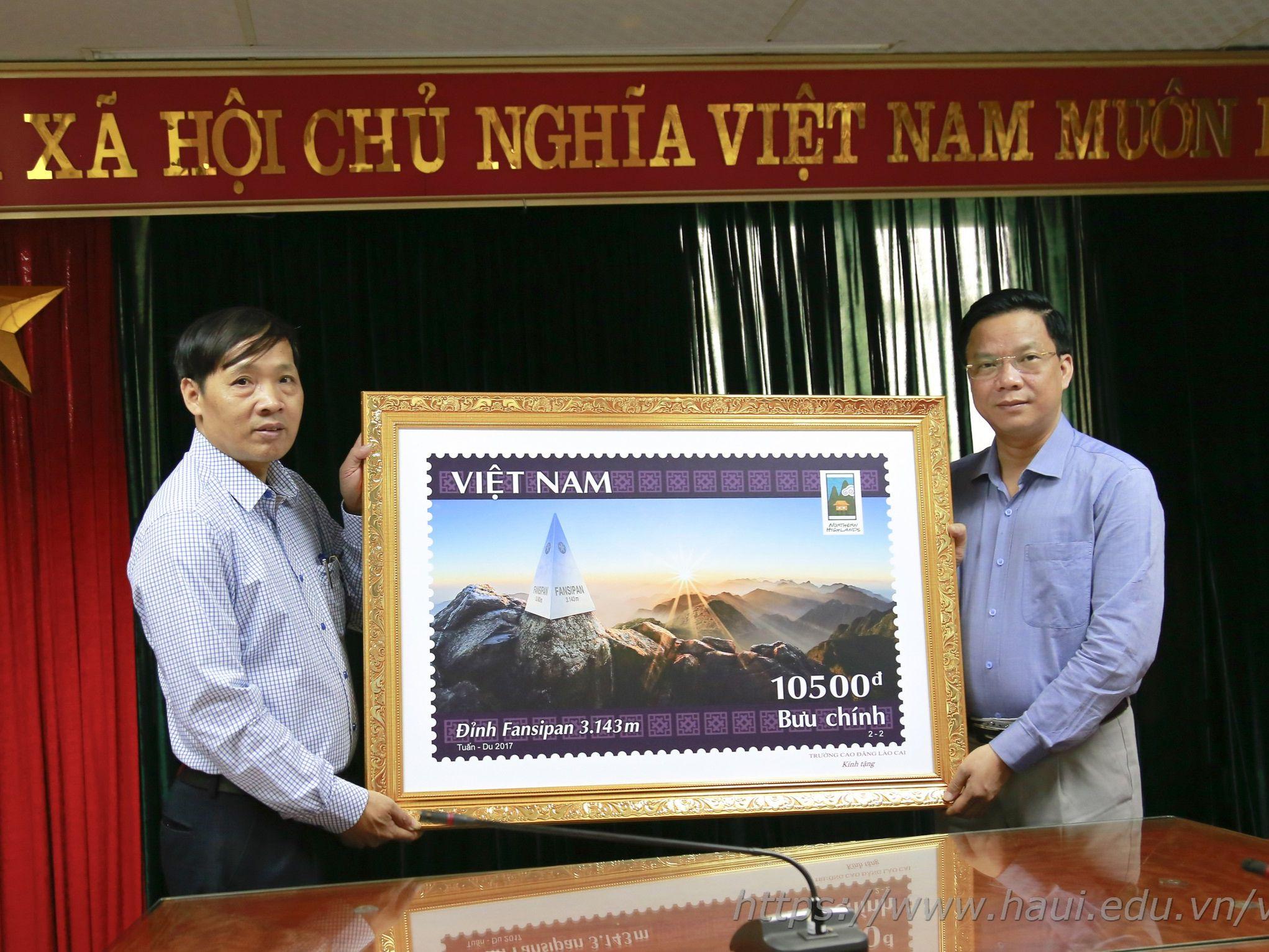 Đoàn cán bộ trường Cao đẳng Lào Cai thăm và làm việc tại Đại học Công nghiệp Hà Nội