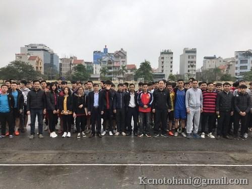 Khai mạc giải bóng đá truyền thống Khoa công nghệ ô tô 2019