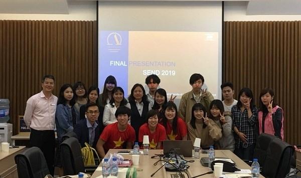 Tổng kết chương trình thực tập cho 3 giáo sinh Trường APU, Nhật Bản tại trường Đại học Công nghiệp Hà Nội