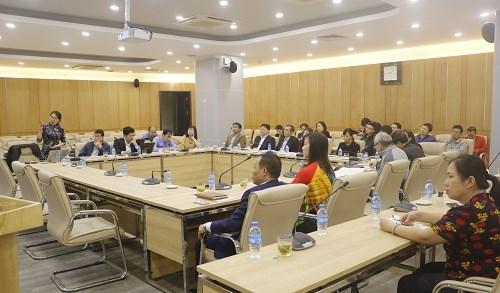 Hội thảo lấy ý kiến về chuẩn đầu ra và chương trình đào tạo - đào tạo trình độ thạc sĩ , ngành Công nghệ dệt, may.