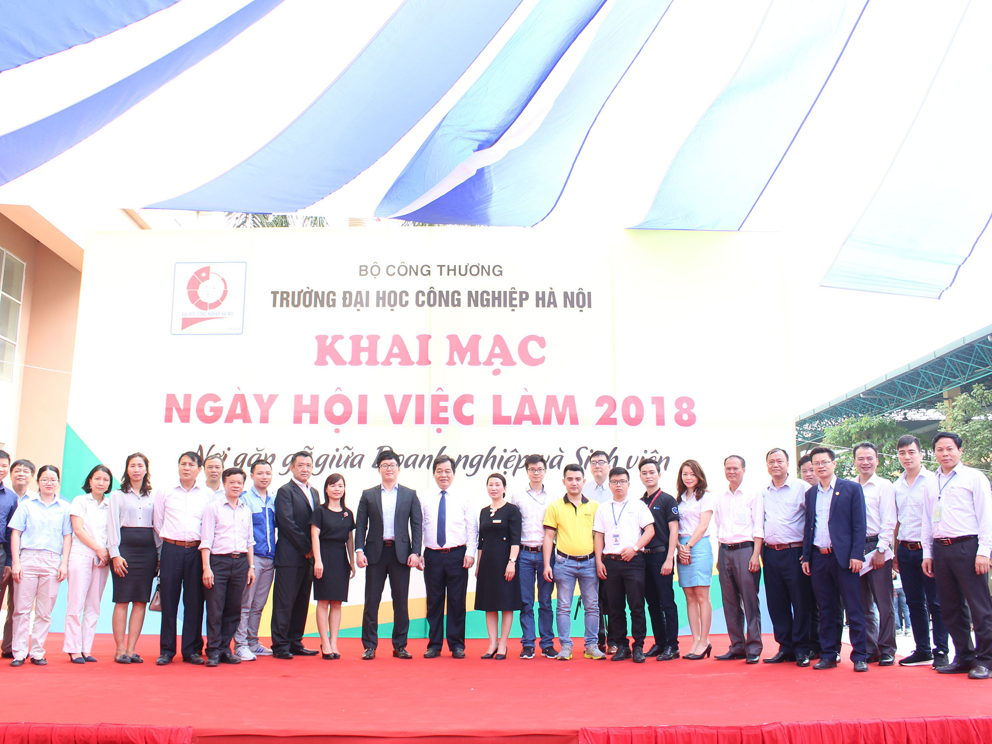 Ngày hội việc làm trường Đại học Công nghiệp Hà Nội 20/4/2019