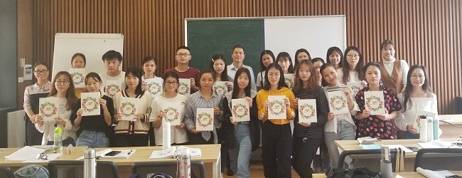 Kết thúc chương trình trao đổi 01 năm cho sinh viên Trường Đại học Khoa học Kỹ thuật Quảng Tây - Trung Quốc năm học 2018-2019
