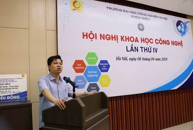 Khoa điện tổ chức thành công hội nghị khoa học lần thứ IV - năm 2019