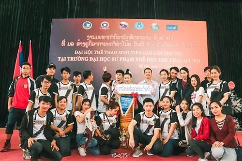 Đại hội thể thao của Lưu học sinh Lào