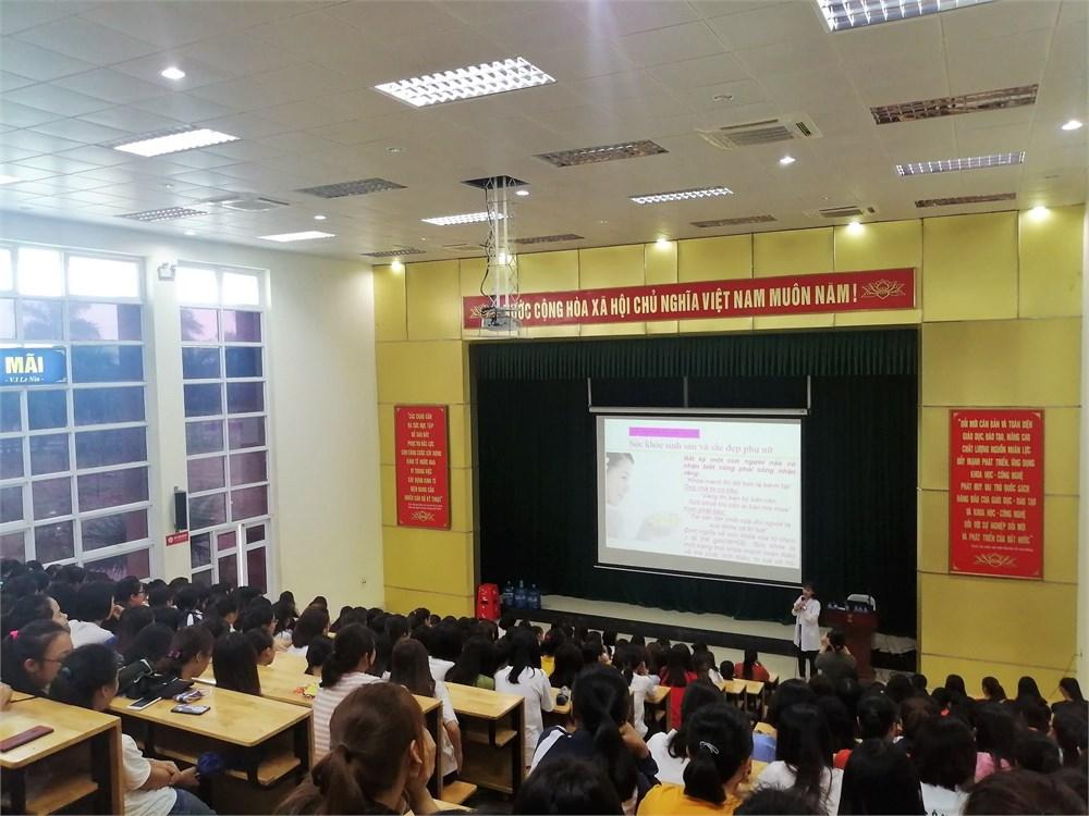 Tọa đàm Tư vấn giới tính và chăm sóc sức khỏe cho nữ sinh Đại học Công nghiệp Hà Nội