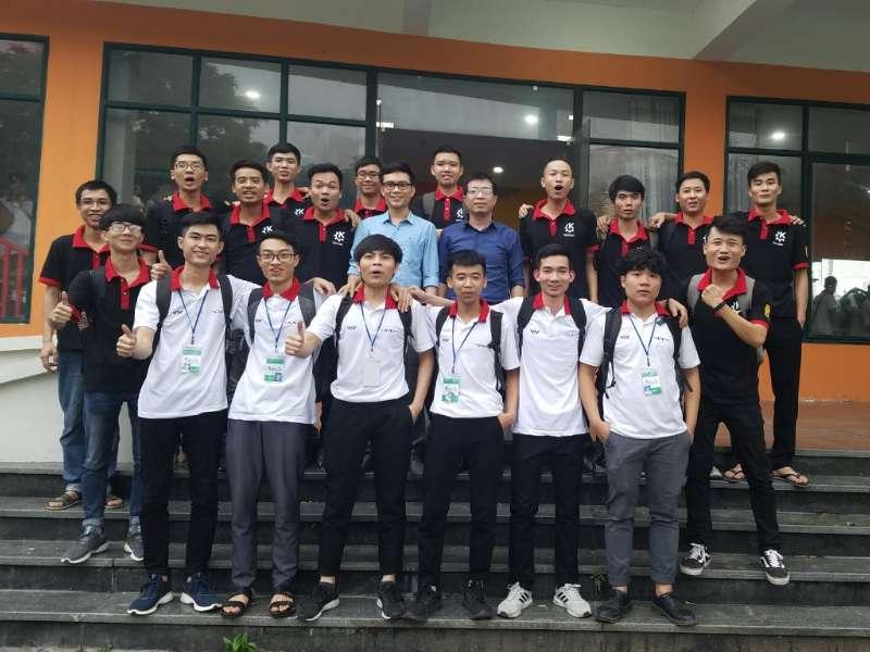 Đội DCN-ME Khoa Cơ khí, chính thức giành tấm vé tham gia vòng chung kết toàn quốc Robocon 2019