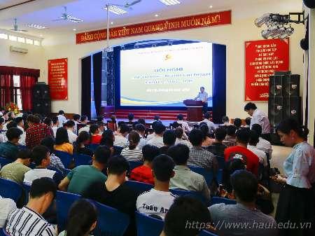 Hội nghị Lớp trưởng, Bí thư Chi đoàn các lớp tại Hà Nội năm học 2018 - 2019
