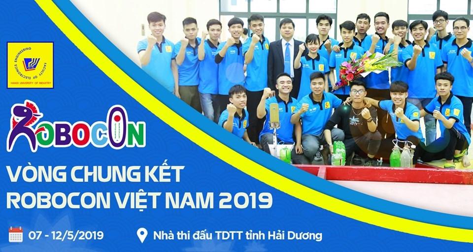 Đội Robot khoa Điện tử đã sẵn sàng cho vòng chung kết Robocon Việt Nam 2019