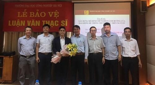 Tổ chức bảo vệ luận văn thạc sĩ ngành Kỹ thuật Cơ khí động lực – Trường Đại học Công nghiệp Hà Nội