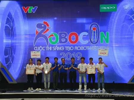 Đại học Công nghiệp Hà Nội đạt giải Ba cuộc thi Robocon Việt Nam 2019