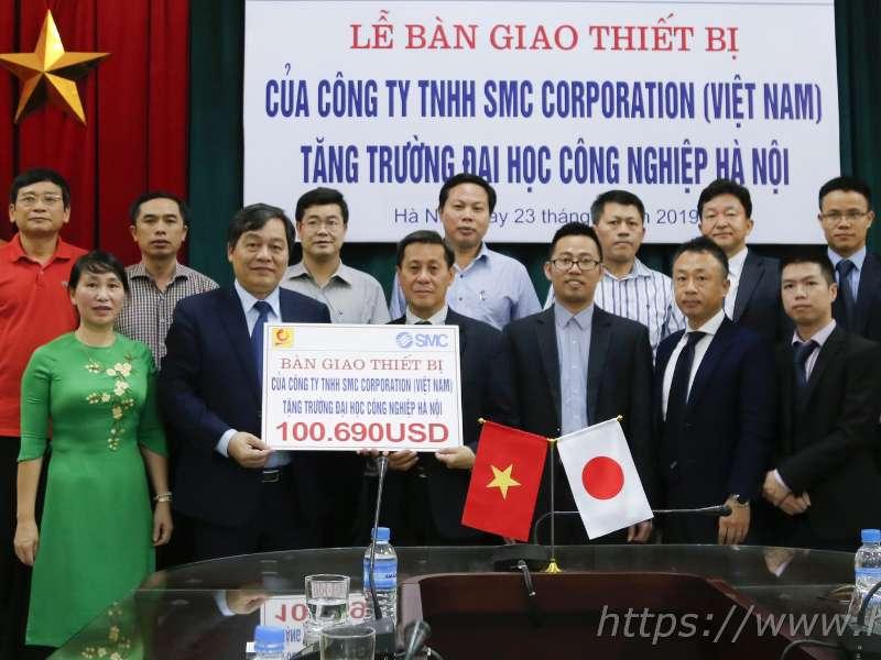 Đại học Công nghiệp Hà Nội đưa vào hoạt động Phòng kỹ thuật điều khiển khí nén trị giá 2,3 tỷ đồng