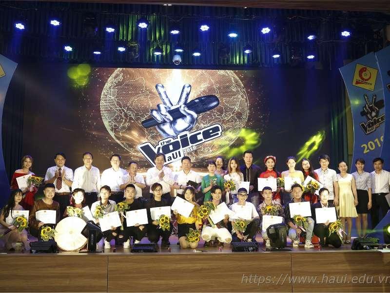 Đêm chung kết cuộc thi Giọng hát hay sinh viên HaUI 2019