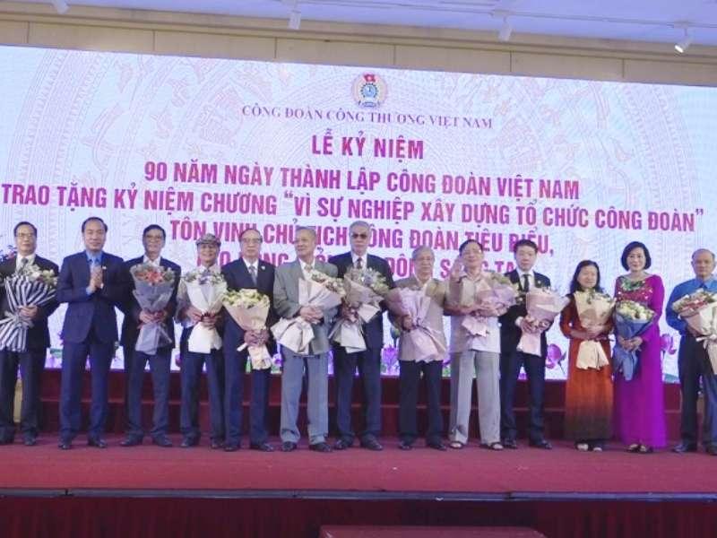 Công đoàn Công Thương Việt Nam: 90 năm vững bước, đồng hành cùng người lao động