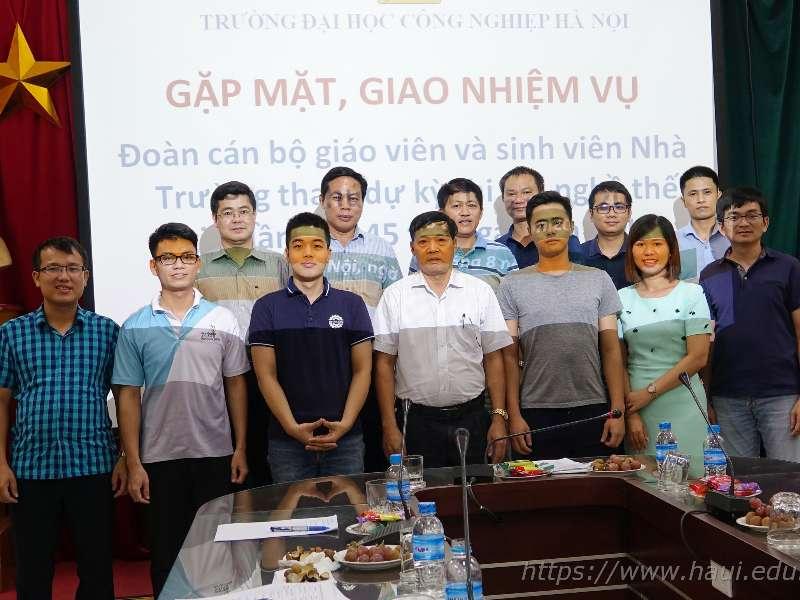 Sinh viên Đại học Công nghiệp Hà Nội quyết tâm đạt thành tích cao tại kỳ thi tay nghề thế giới lần thứ 45 tổ chức tại Kazan, Liên bang Nga