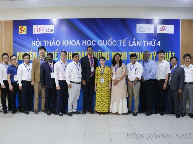 """Hội thảo Khoa học Quốc tế lần thứ 4 """"Nghiên cứu về tính toán thông minh trong kỹ thuật"""" tại Đại học Công nghiệp Hà Nội"""