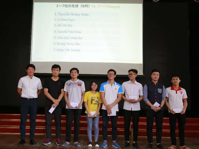 """Trao 74 suất học bổng tháng 8 trong chương trình """"Đào tạo kỹ sư trình độ cao của Công ty TNHH Nissan Automotive Technology Việt Nam và Công ty Pasona Tech Việt Nam"""""""