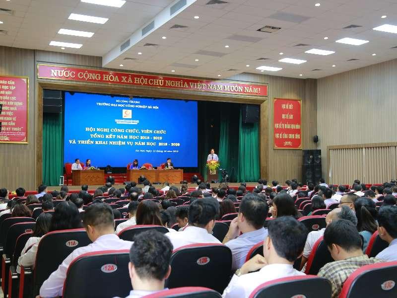 Hội nghị Công chức, viên chức, tổng kết năm học 2018 - 2019 và triển khai nhiệm vụ năm học 2019 - 2020
