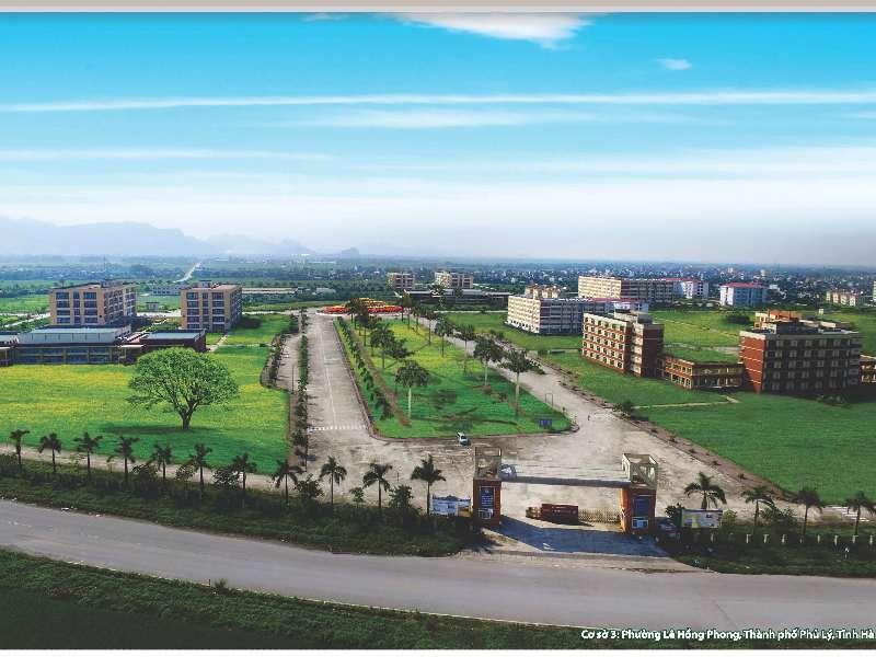 Giới thiệu cơ sở đào tạo Hà Nam, trường Đại học Công nghiệp Hà Nội