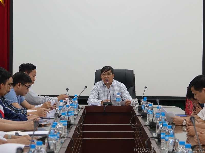 Gặp mặt đoàn cán bộ, giảng viên và sinh viên tham dự Kỳ thi tay nghề thành phố Hà Nội năm 2019