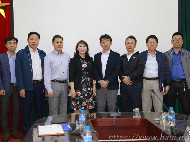 Hanoi University of Industry works with SMC Corporation Vietnam