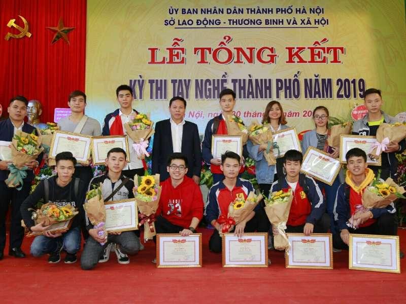 Hanoi University of Industry won 18 prizes at Hanoi Skills Competition 2019