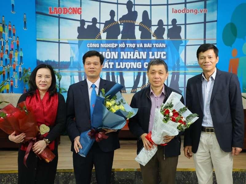 """Đại học Công nghiệp Hà Nội tham gia tọa đàm """"Công nghiệp hỗ trợ và bài toán nguồn nhân lực chất lượng cao"""""""