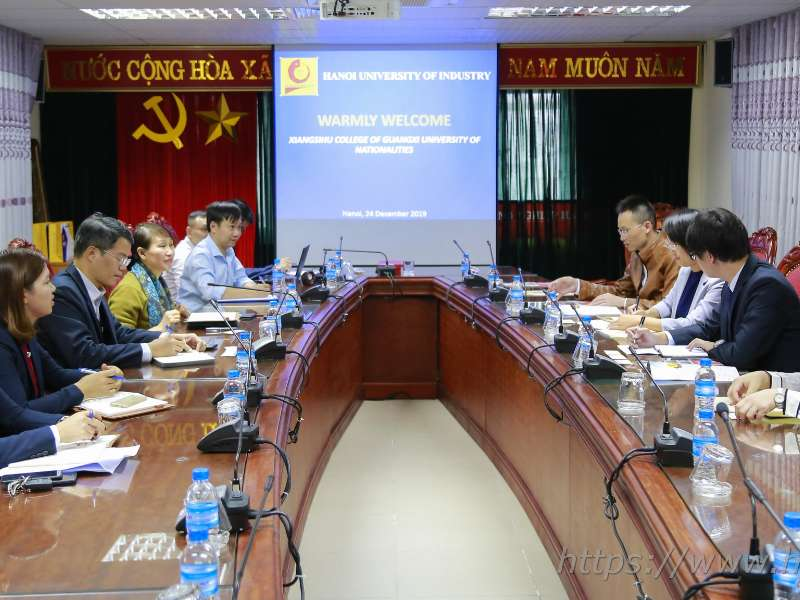 Hanoi University of Industry cooperates with Xiangsihu College, China