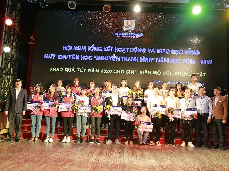 Hội nghị tổng kết và trao học bổng Nguyễn Thanh Bình năm học 2018 – 2019