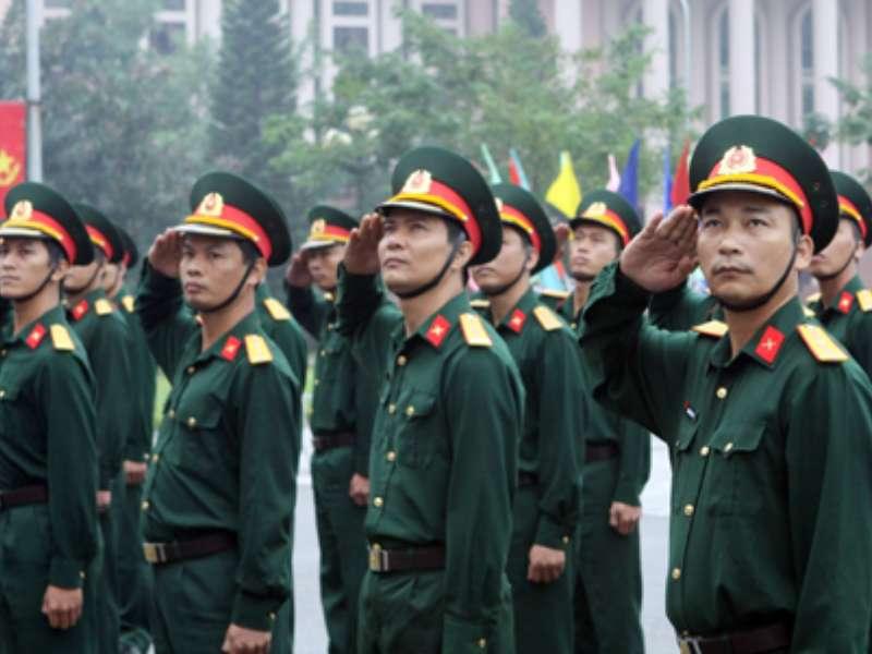 Thông báo tuyển chọn nam sinh viên tốt nghiệp Đại học đi đào tạo sĩ quan dự bị năm 2020