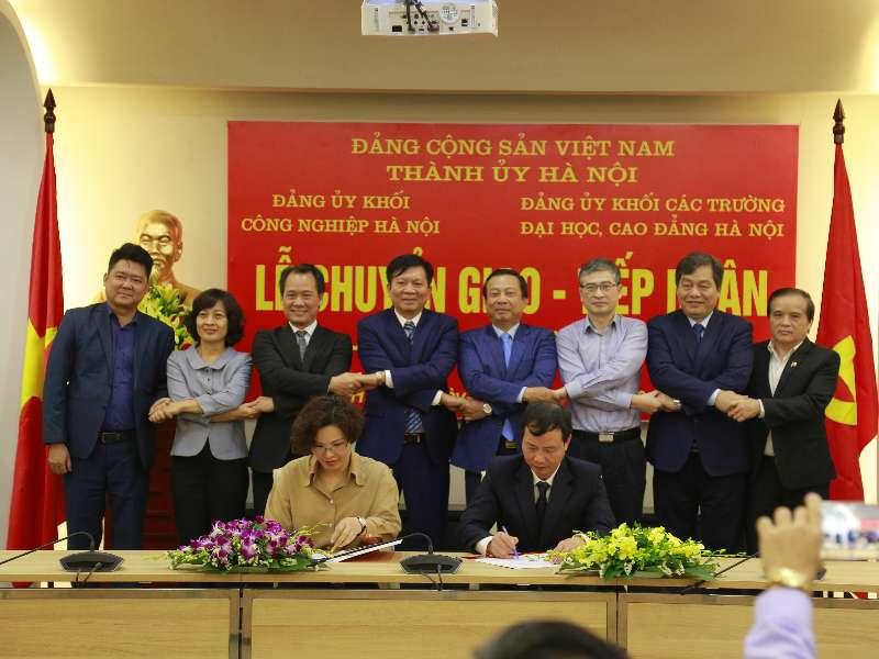 Đảng bộ Trường Đại học Công nghiệp Hà Nội - Phát huy nội lực để phát triển vững mạnh