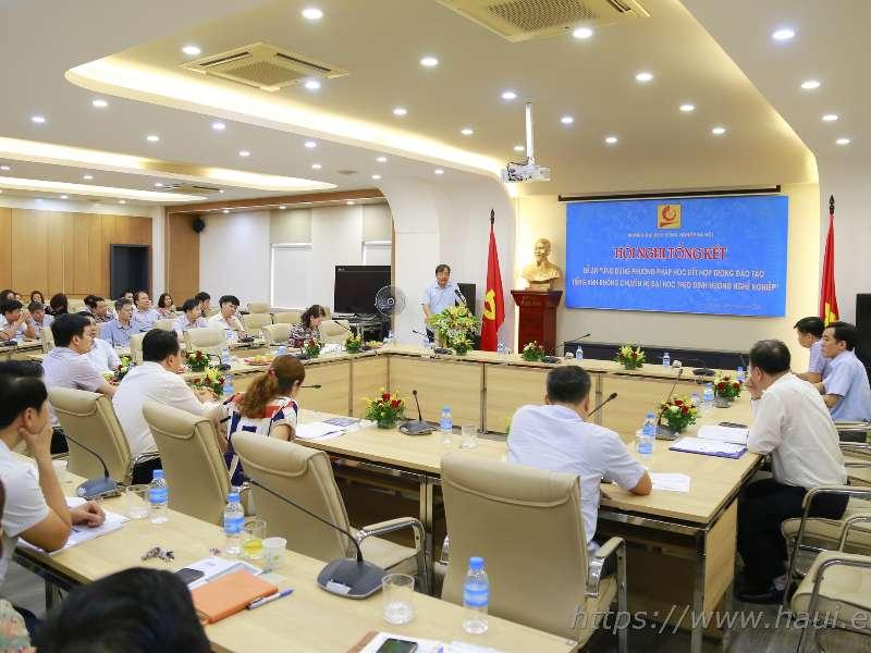 Đại học Công nghiệp Hà Nội ứng dụng thành công phương pháp học kết hợp trong đào tạo Tiếng Anh không chuyên theo định hướng nghề nghiệp