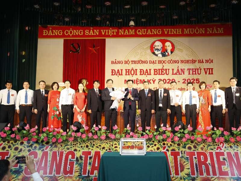 Đại hội Đảng bộ Trường Đại học Công nghiệp Hà Nội lần thứ VII, nhiệm kỳ 2020 - 2025