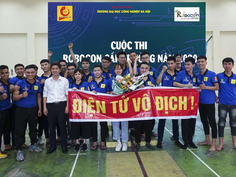 DTO3 team won First Prize at HaUI Robocon Contest 2020
