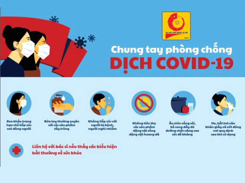 Thông báo V/v nâng cao công tác phòng chống dịch COVID-19