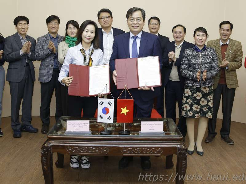 International cooperation activites at Hanoi University of Industry