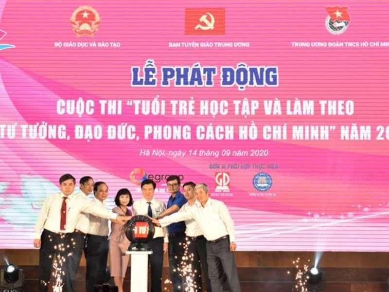 """Sinh viên DHCNHN với cuộc thi trực tuyến """"Tuổi trẻ học tập và làm theo tư tưởng, đạo đức, phong cách Hồ Chí Minh"""" năm 2020."""