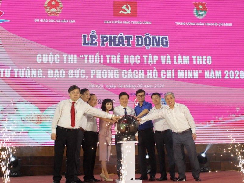 """Cuộc thi trực tuyến """"Tuổi trẻ học tập và làm theo tư tưởng, đạo đức, phong cách Hồ Chí Minh"""" năm 2020"""
