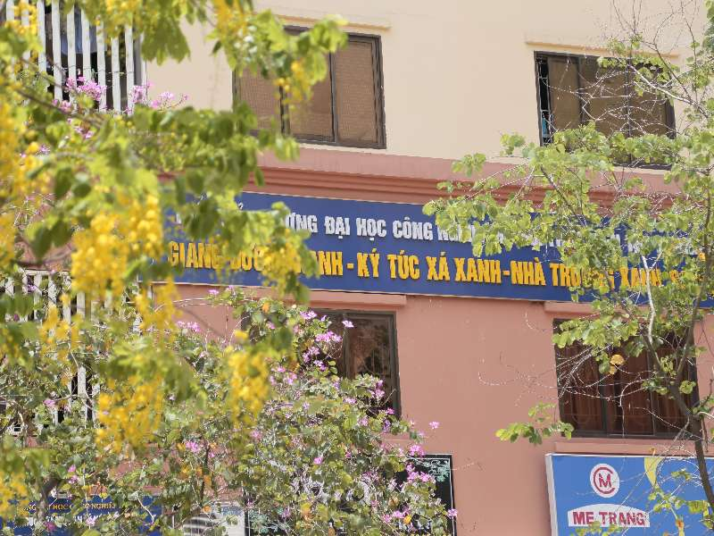 Ký túc xá Đại học Công nghiệp Hà Nội chào đón các bạn sinh viên