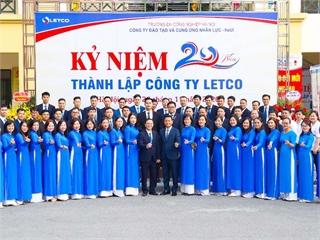 LETCO - 20 năm xây dựng và phát triển