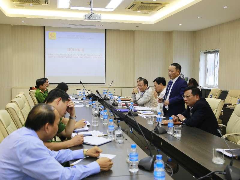 Hội nghị tổng kết công tác đảm bảo ANTT năm học 2019 - 2020 và triển khai kế hoạch đảm bảo ANTT năm học 2020 - 2021