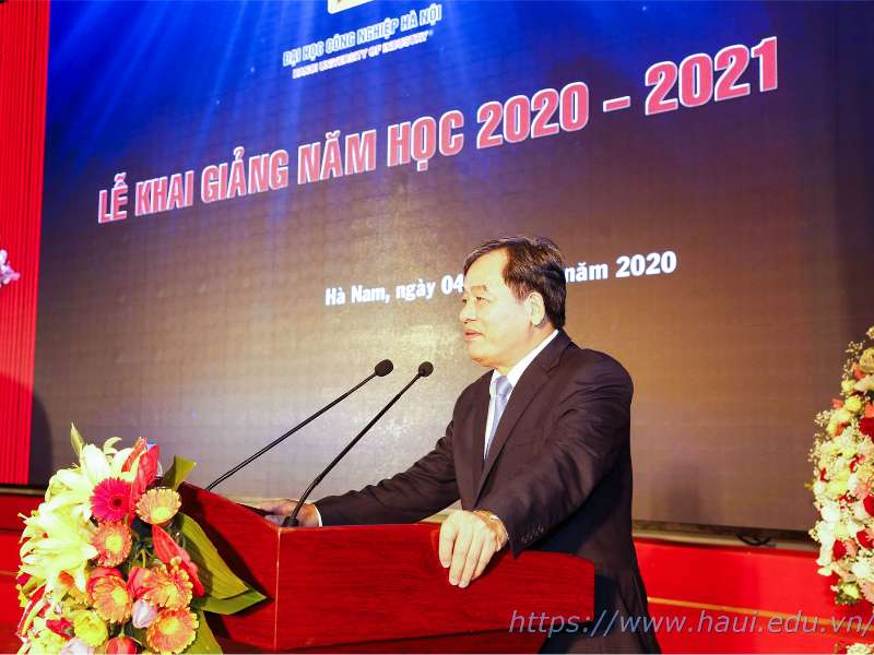 Opening Ceremony of New Academic Year 2020 - 2021