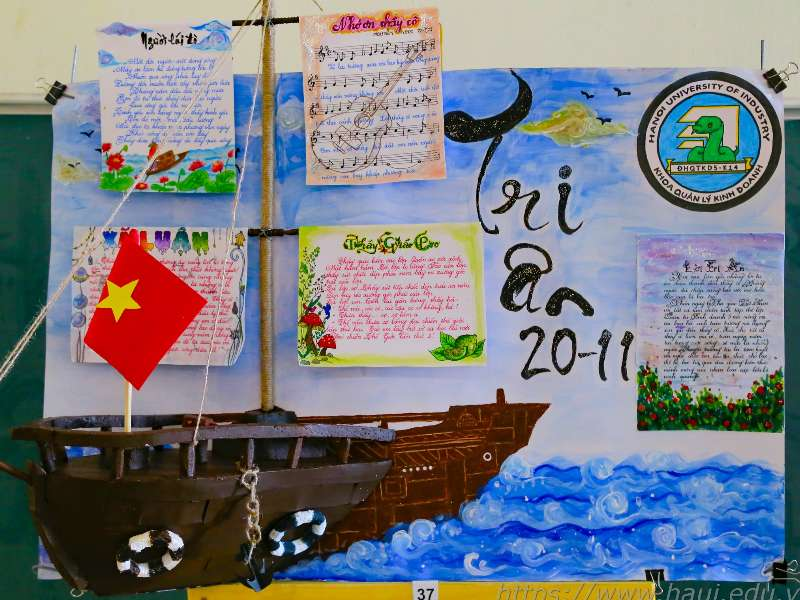 """Greeting Card Designing"" contest to celebrate Vietnamese Teachers' Day"