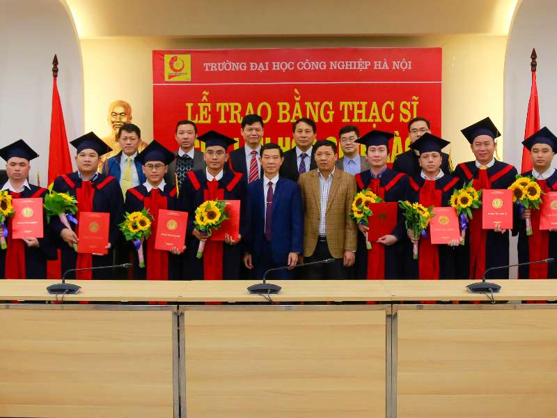Graduation Ceremony and Award of Master's Degrees for 12 Lao students