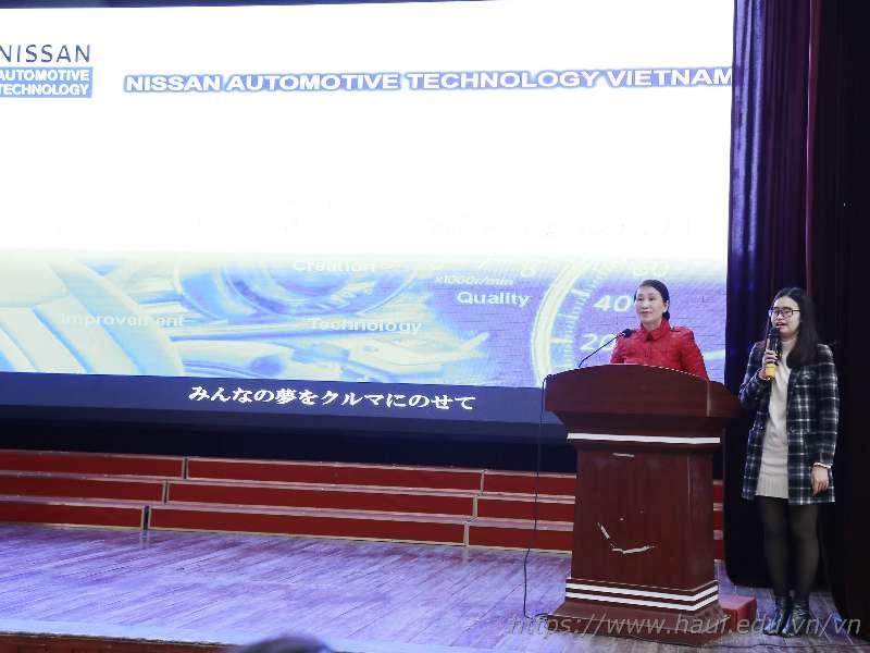 Hơn 500 sinh viên tham gia chương trình hợp tác đào tạo giữa Đại học Công nghiệp Hà Nội và Nissan Automotive Technology Việt Nam