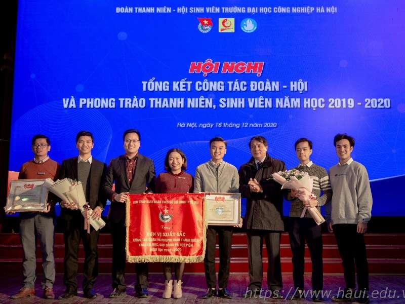 Hội nghị tổng kết công tác Đoàn Hội và phong trào thanh niên sinh viên năm học 2019 - 2020