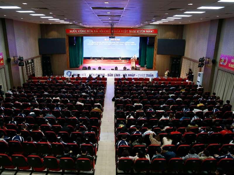 Kỷ niệm 71 năm ngày truyền thống học sinh, sinh viên và Hội SV Việt Nam