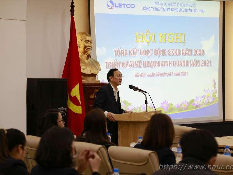 Công ty LETCO tổng kết hoạt động sản xuất kinh doanh năm 2020